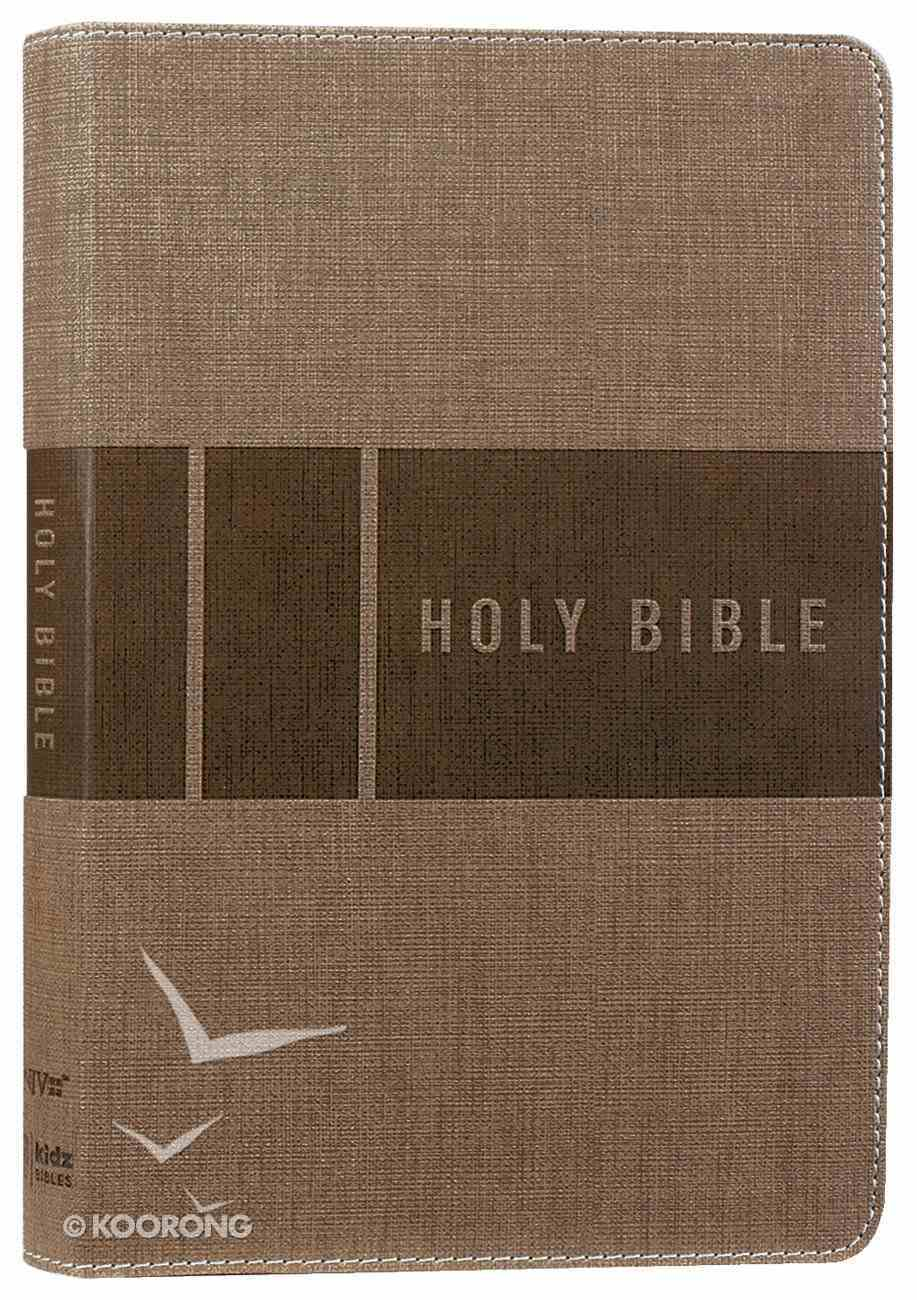 NIV Bible For Kids Tan (Red Letter Edition) Premium Imitation Leather