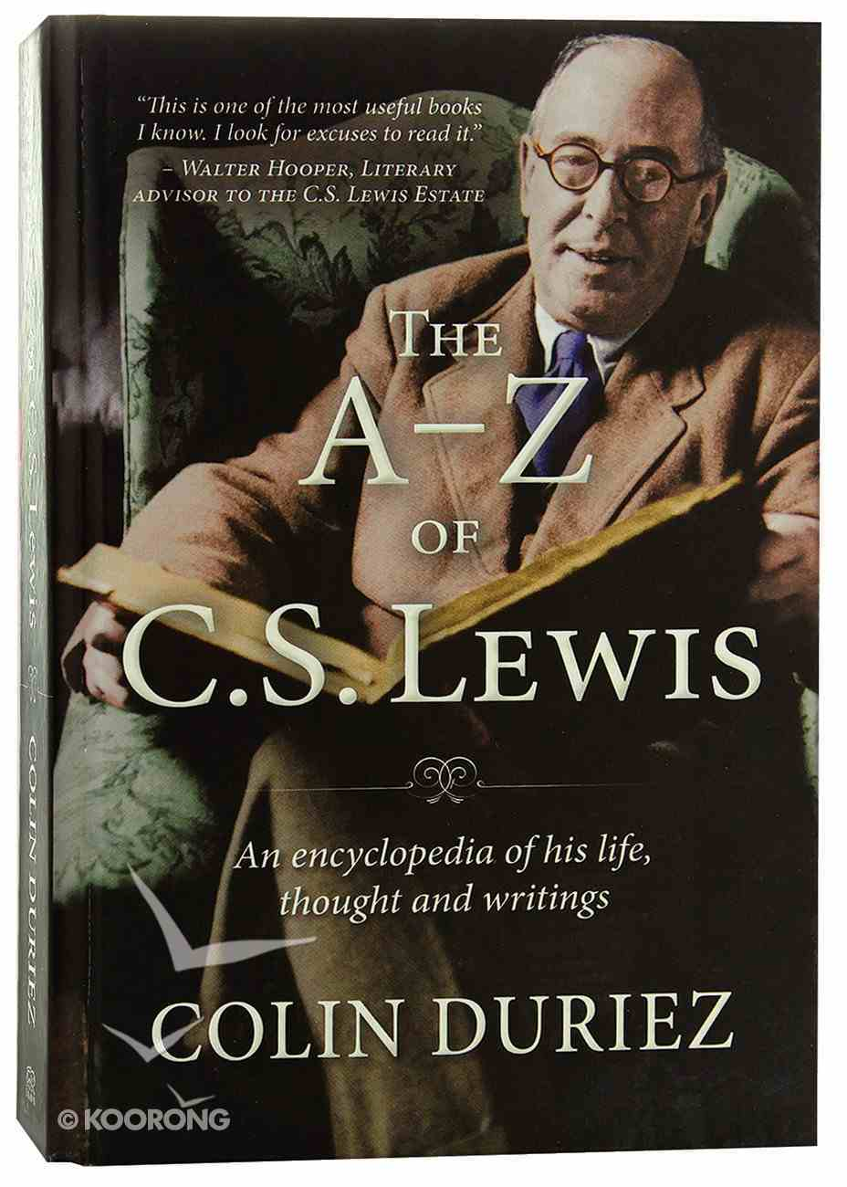 The A-Z of C S Lewis Hardback