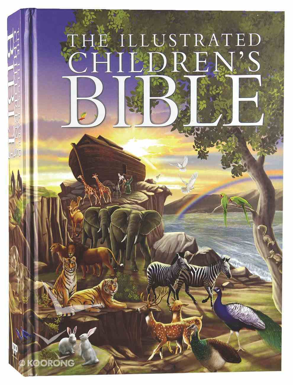 The Illustrated Children's Bible (Anglicised) Hardback