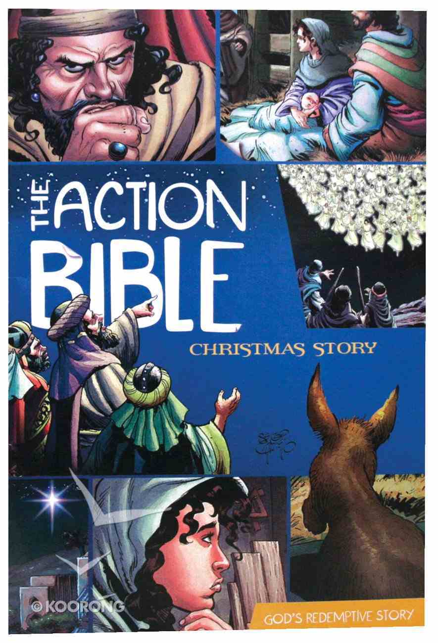 The Action Bible: Christmas Story (Graphic Novel) Paperback