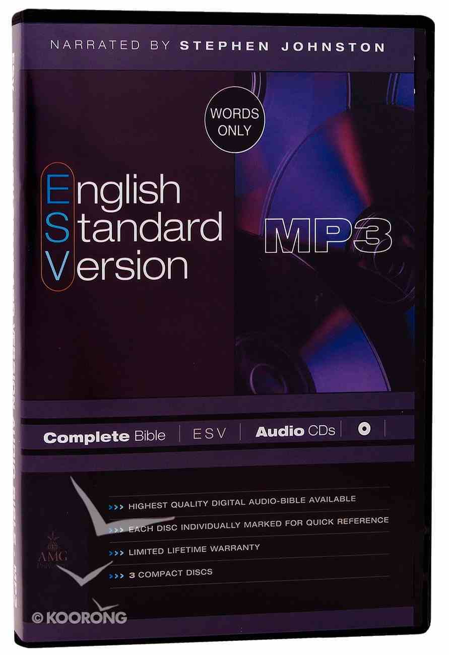 ESV Complete Bible on Audio MP3 CDS (3 Cds) CD