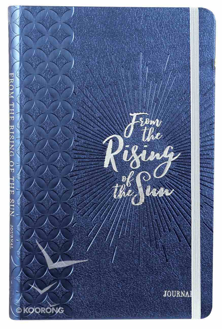 Journal: From the Rising of the Sun Blue/White Imitation Leather