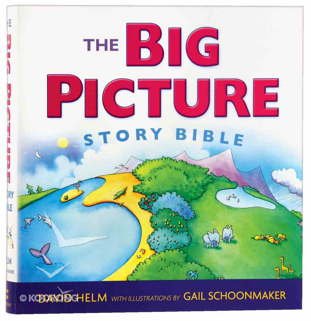 The Big Picture Story Bible Paperback