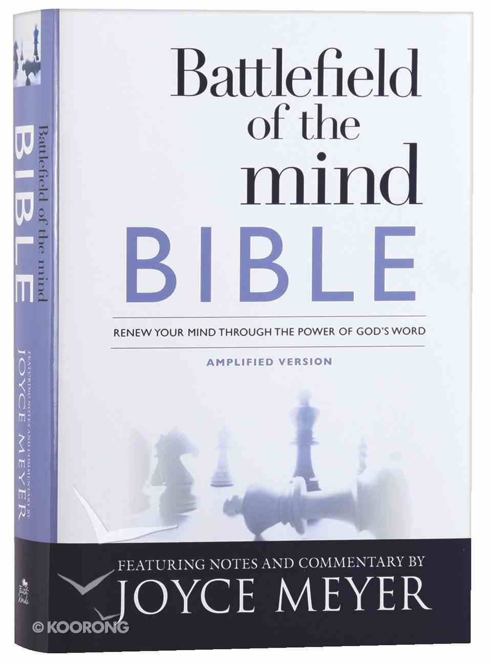 Amplified Battlefield of the Mind Bible Hardback