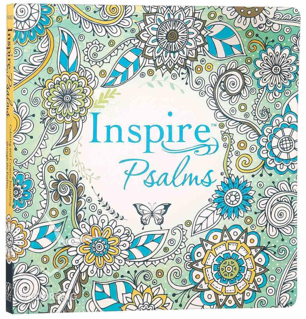 NLT Inspire Psalms Creative Journaling (Black Letter Edition) Paperback