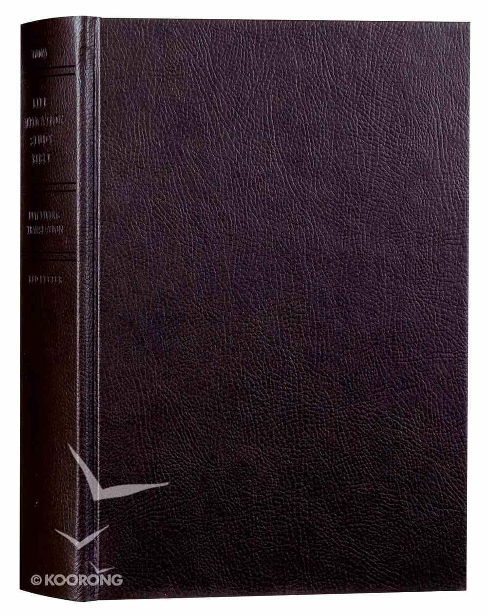NLT Life Application Study Bible (Red Letter Edition) Hardback