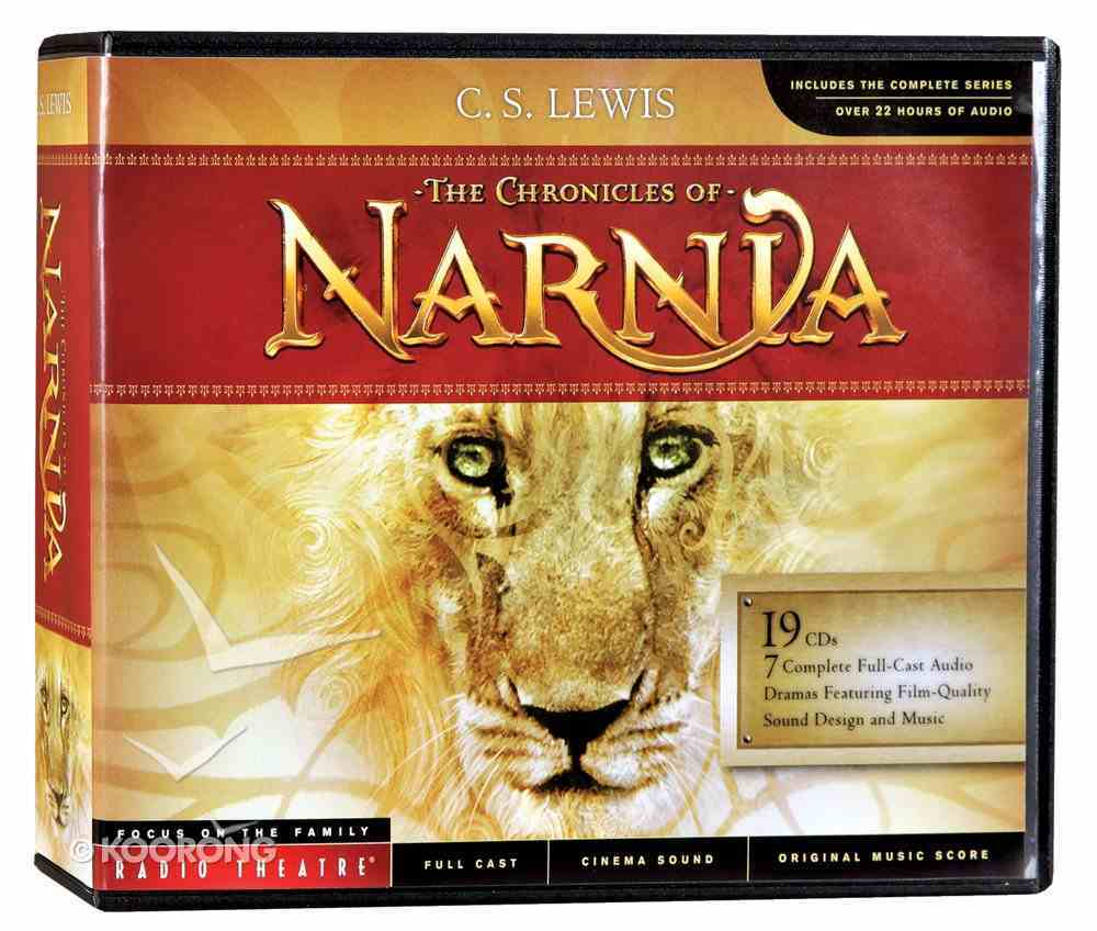 The Chronicles of Narnia (19 Audio CDS) (Chronicles Of Narnia Audio Series) CD
