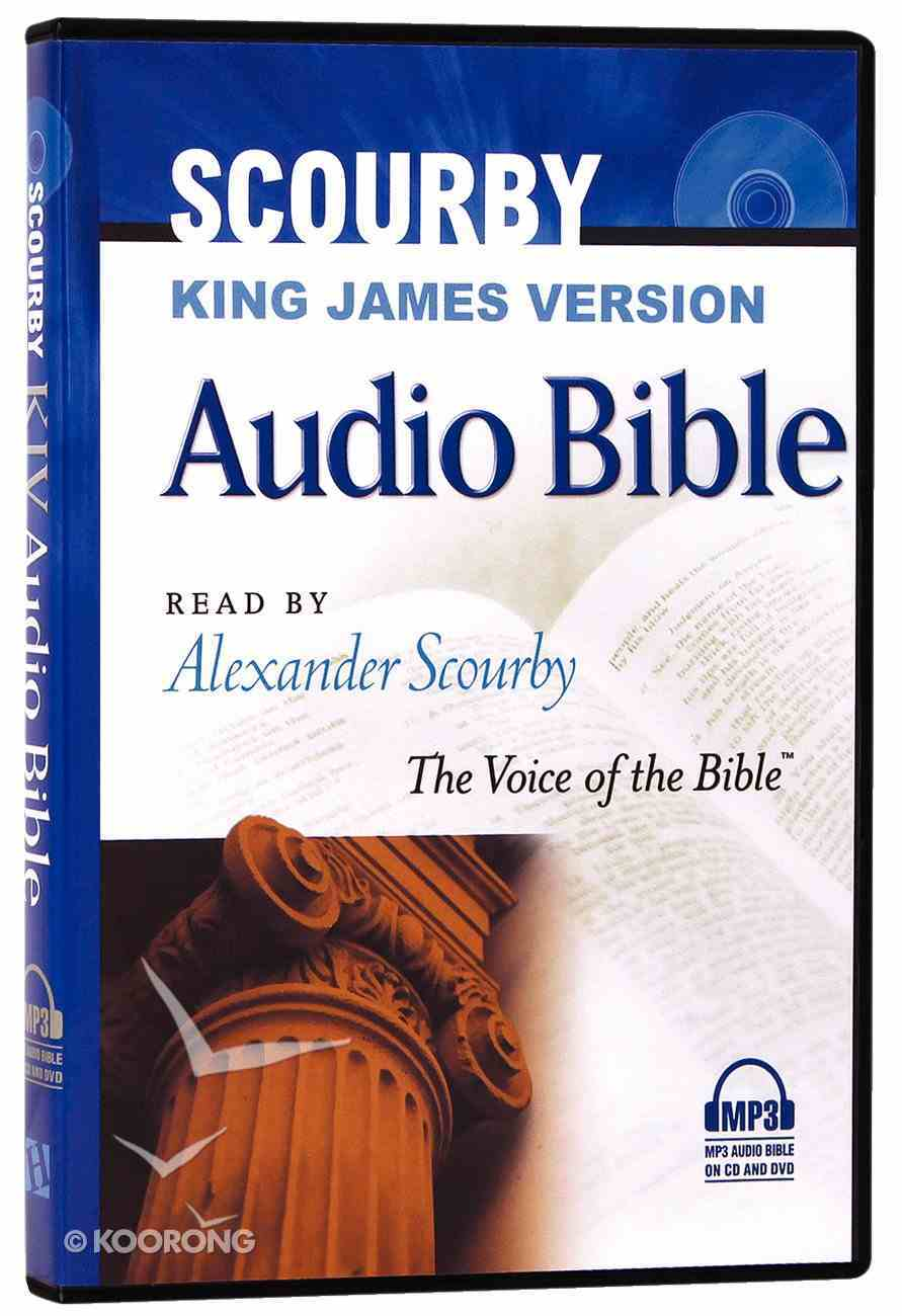 KJV Scourby Audio Bible MP3 CD