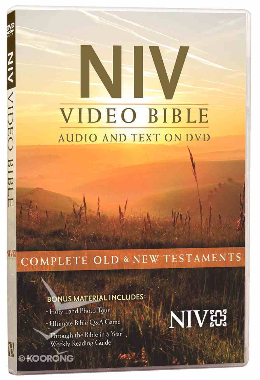 NIV Video Bible Dramatized Multi-Voice ( (Audio And Text On Dvd) DVD