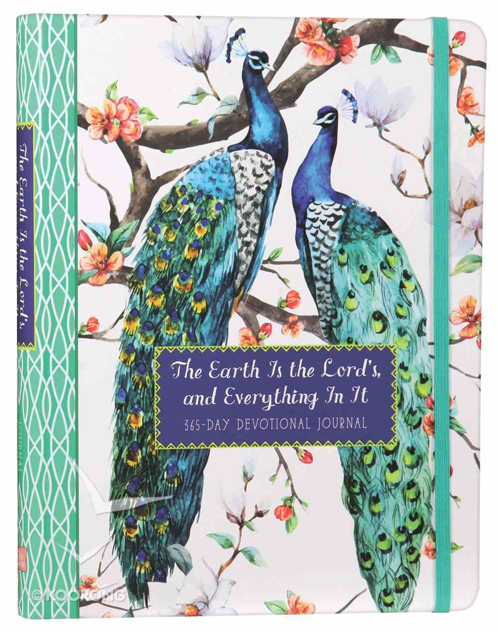 The Earth is the Lord's, and Everything in It: 365-Day Devotional Journal Paperback