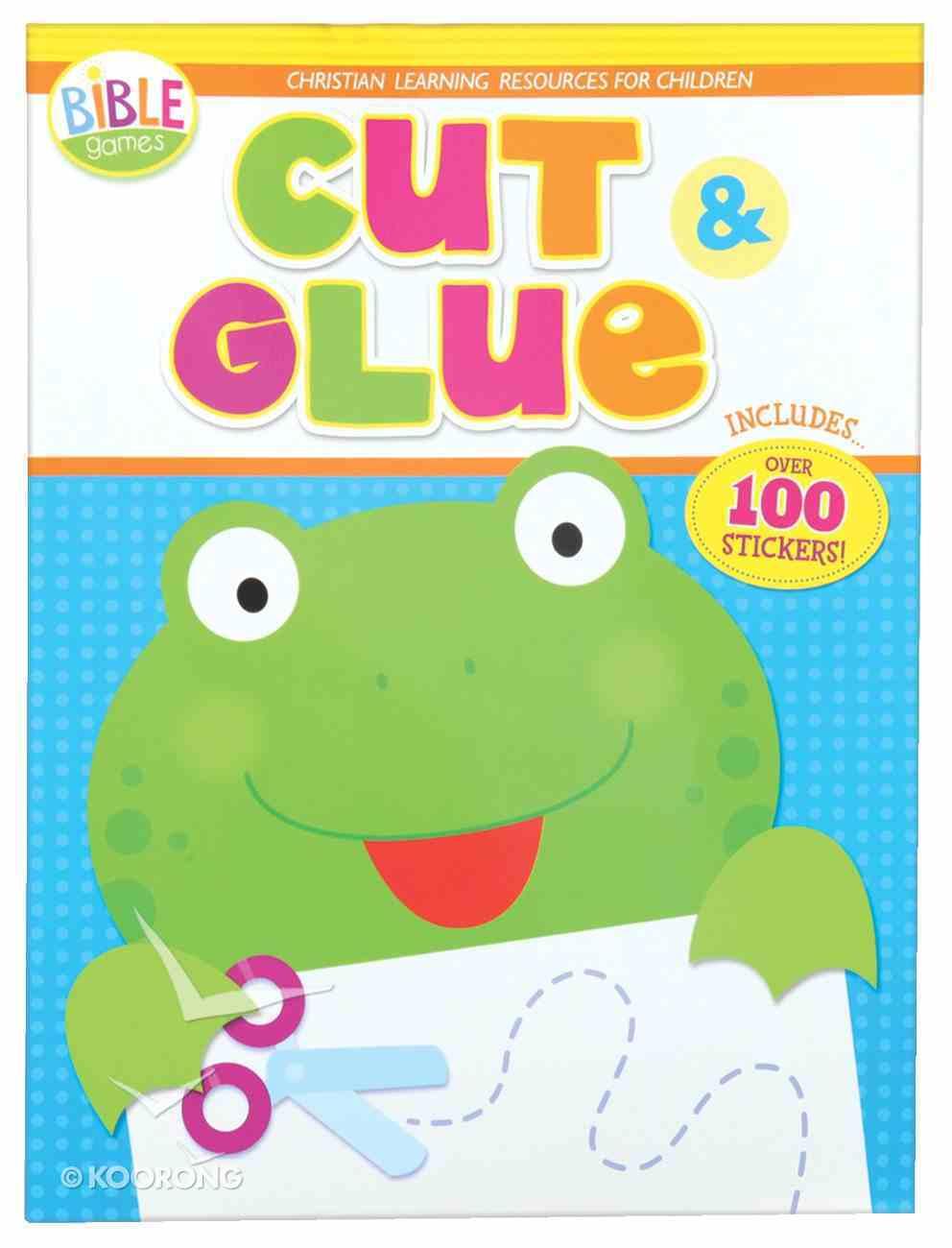 Bible Fun: Cut & Glue Paperback