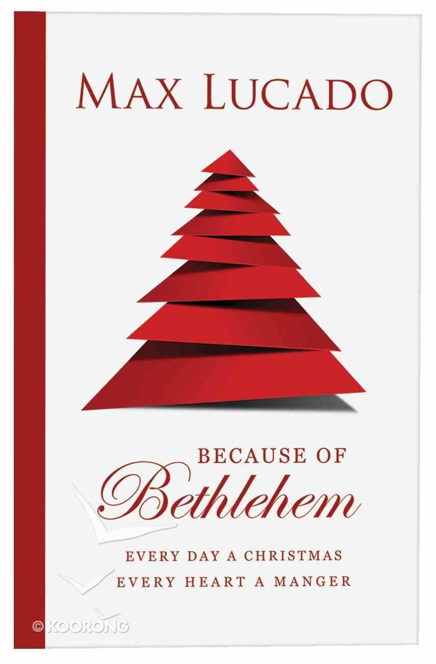 Because of Bethlehem (25 Pack) Booklet