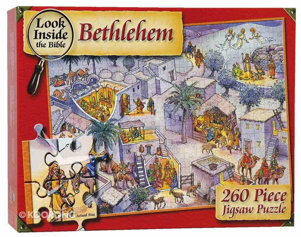 Look Inside Bethlehem Jigsaw (260 Pieces) Game