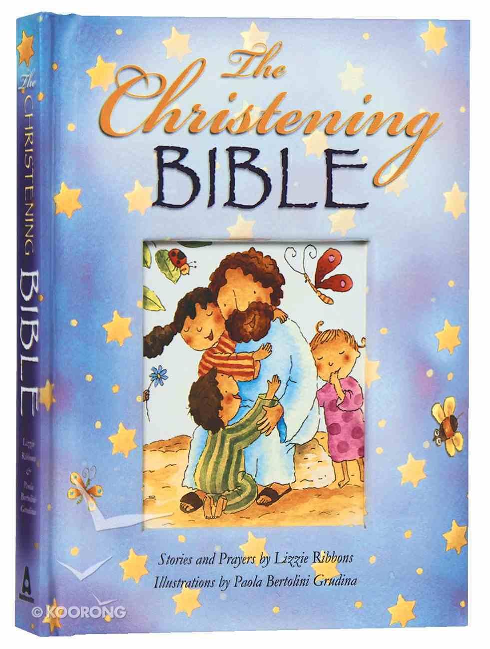 The Christening Bible (Blue) Padded Hardback