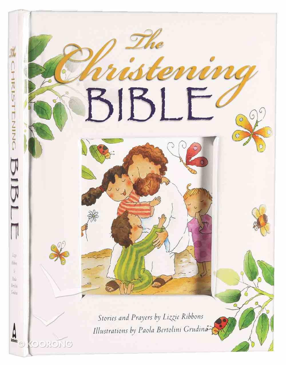 The Christening Bible (White) Padded Hardback