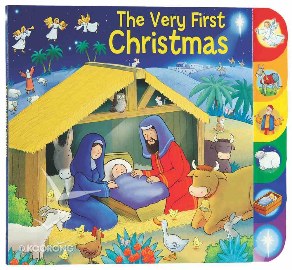 The Very First Christmas Board Book