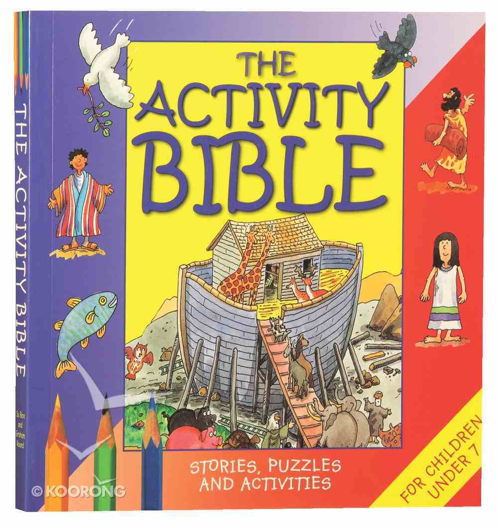 The Activity Bible (For Children Under 7) Paperback
