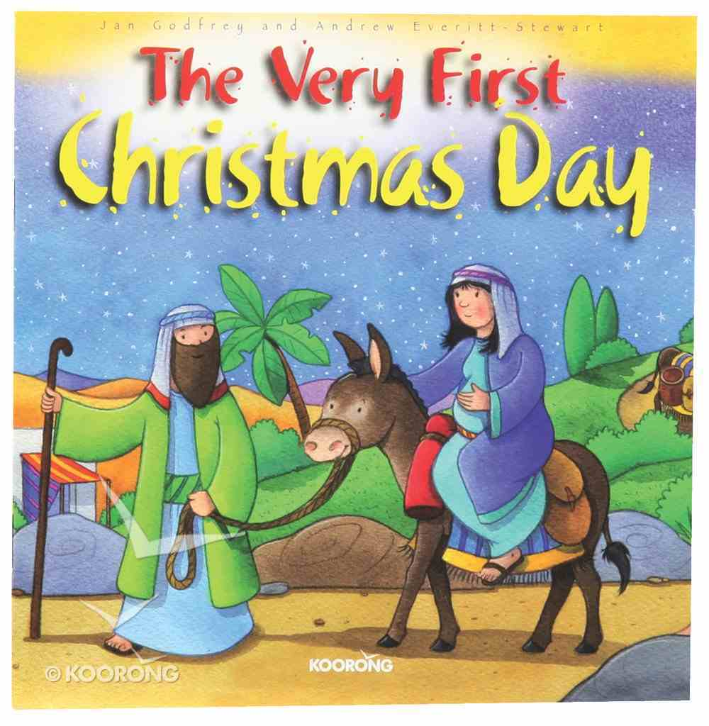 The Very First Christmas Day Paperback