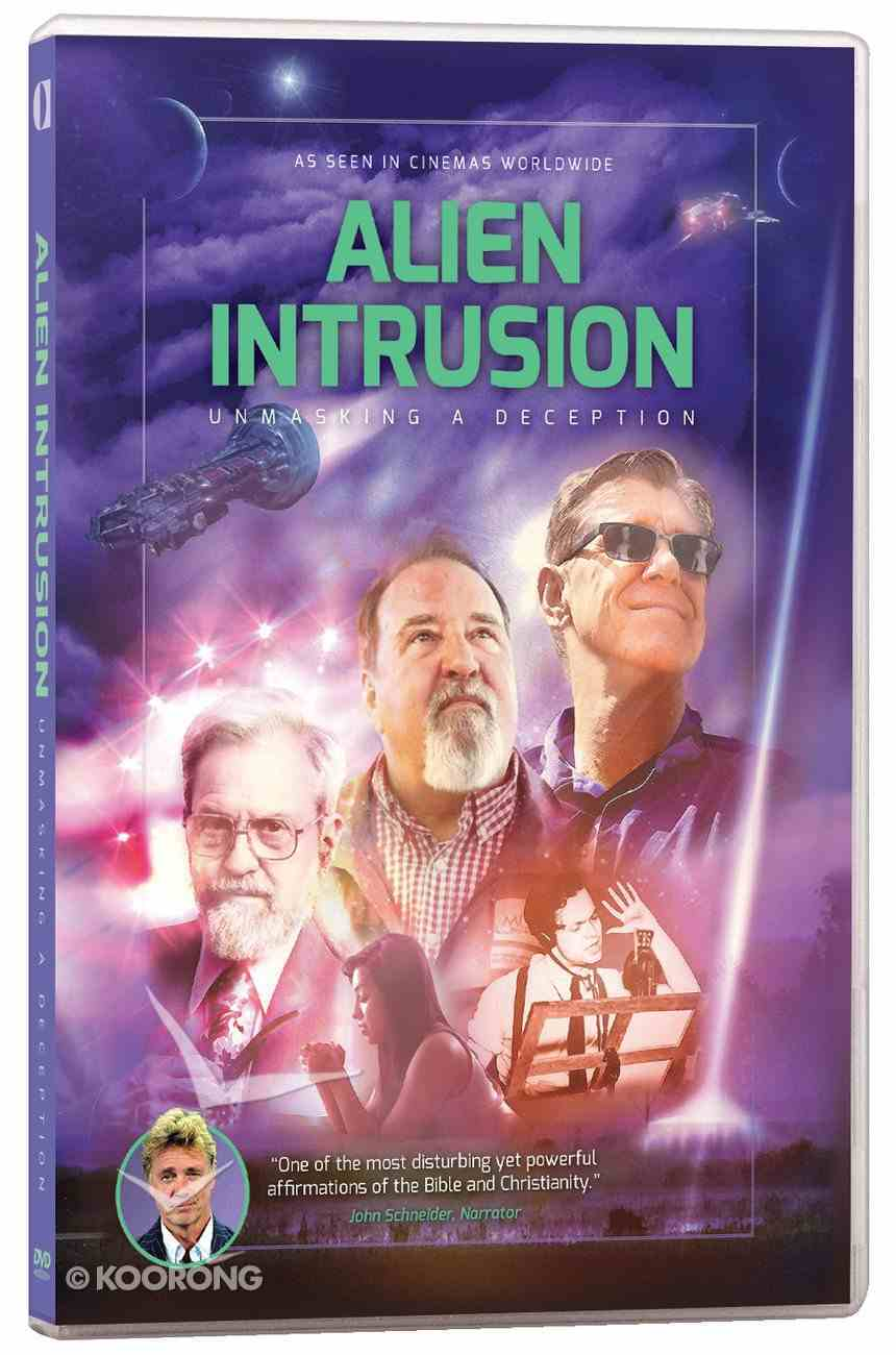 Alien Intrusion: Unmasking a Deception (109 Mins) DVD