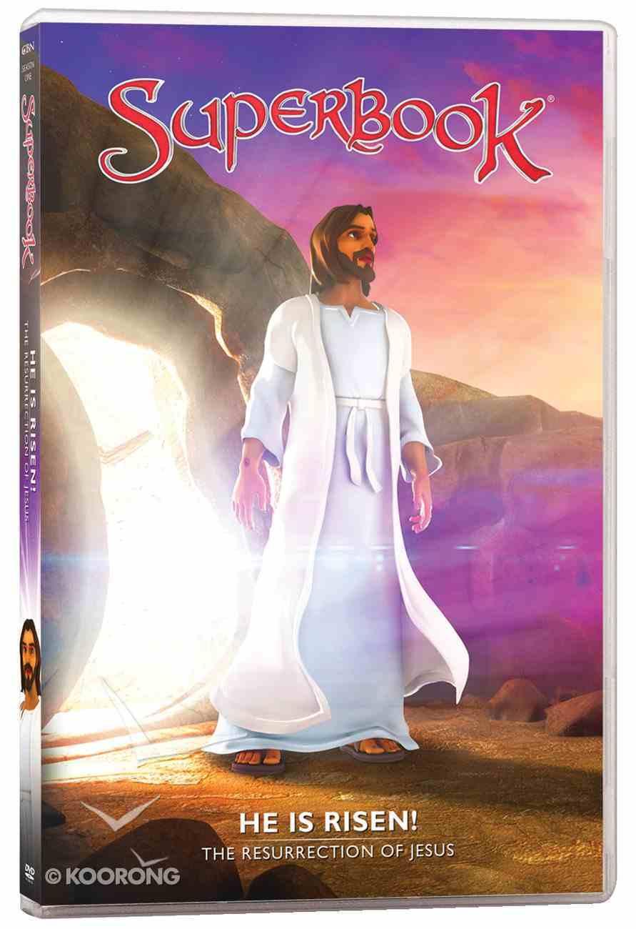 He is Risen! - the Resurrection of Jesus! (#11 in Superbook Dvd Series Season 01) DVD