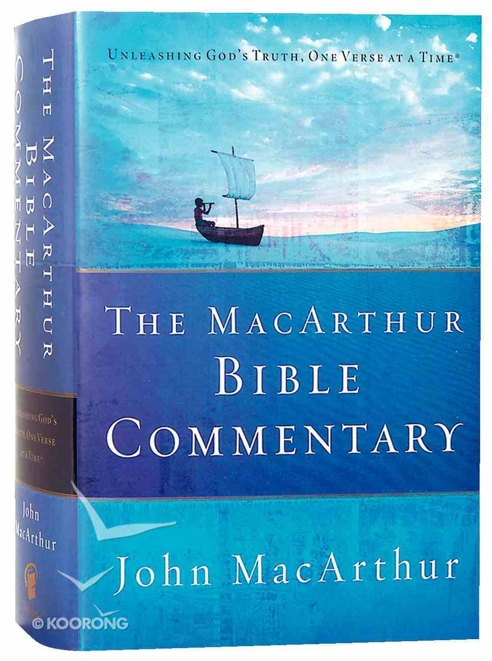 The Macarthur Bible Commentary Hardback