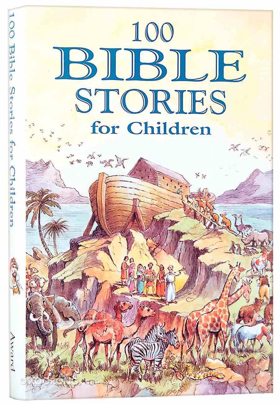 100 Bible Stories For Children Hardback