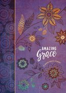 2019 16-month-weekly Planner: Amazing Grace (Purple With Orange Flowers) image