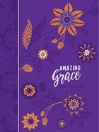 2019 16-month Weekly Planner: Amazing Grace, Purple With Orange Flowers image
