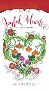 2019/2020 2 Year Pocket Planner: Joyful Hearts image