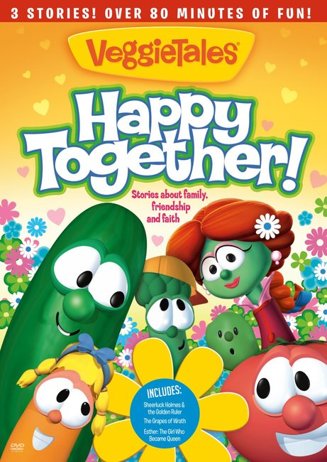 Product: Dvd Veggie Tales: Happy Together Image