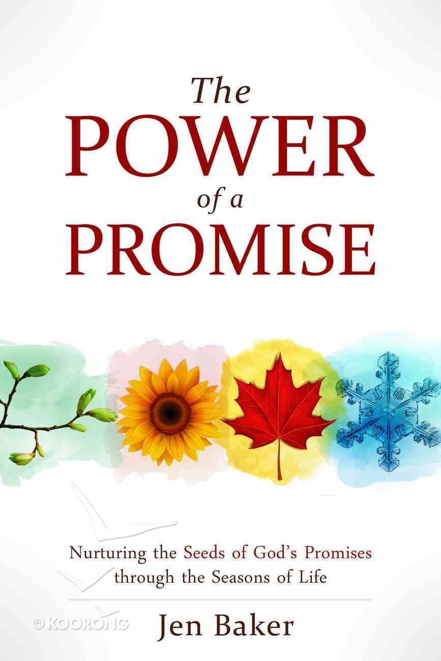 The Power of a Promise: Nurturing the Seeds of God's Promise Through the Seasons of Life Paperback