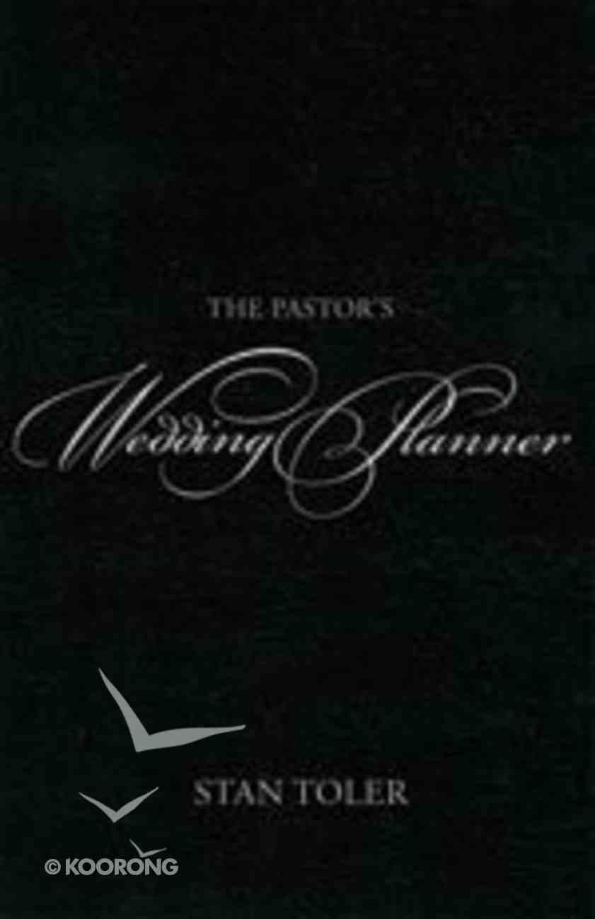 Pastors Wedding Planner Paperback