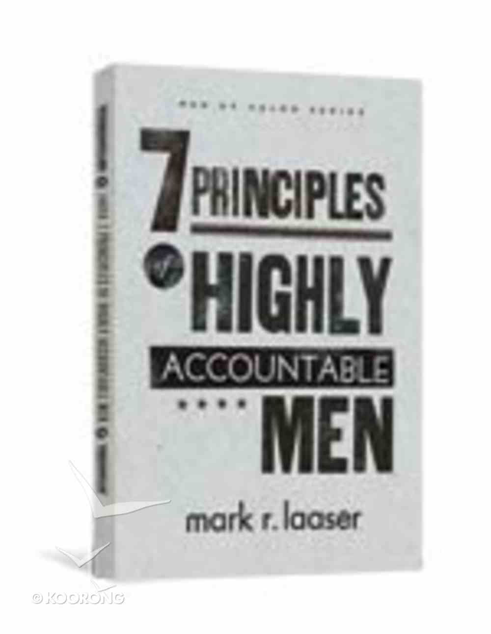 Men of Valor: 7 Principles of Highly Accountable Men Paperback