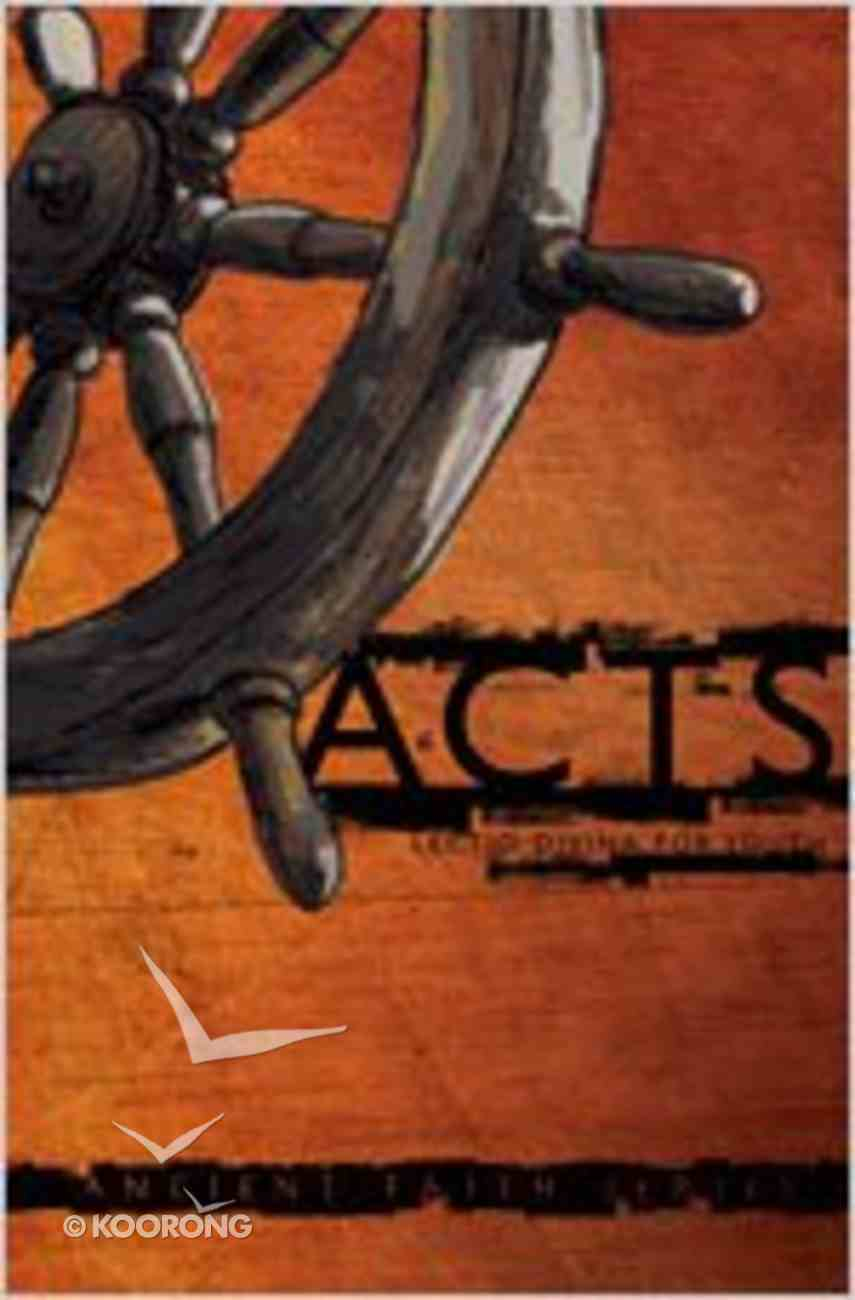 Acts (Lectio Divina For Youth Series) Paperback