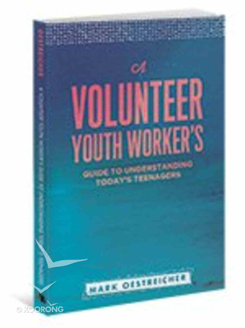 A Volunteer Youth Worker's Guide to Understanding Today's Teenagers Paperback