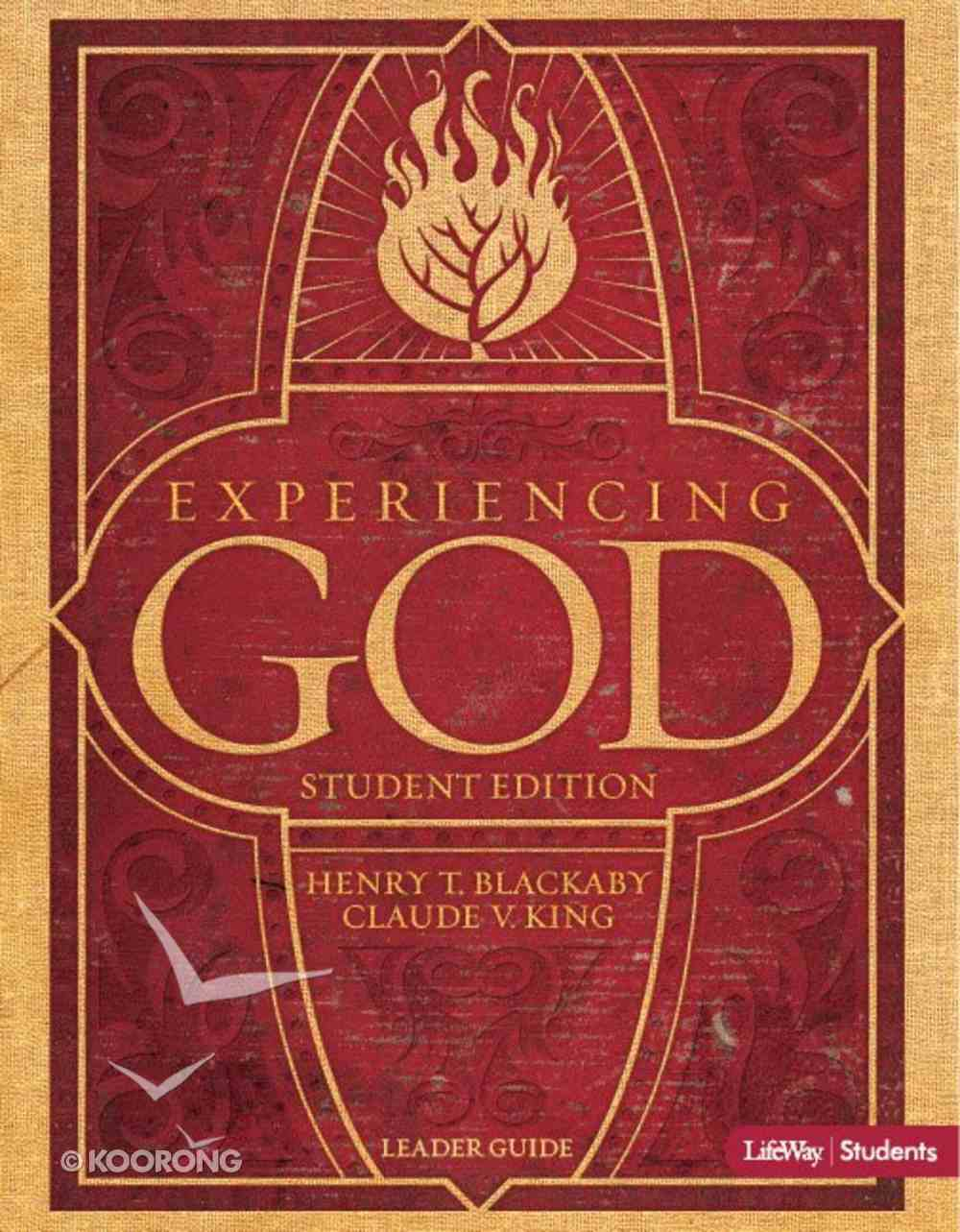 Experiencing God - Youth Edition Revised (Leader Guide) Paperback