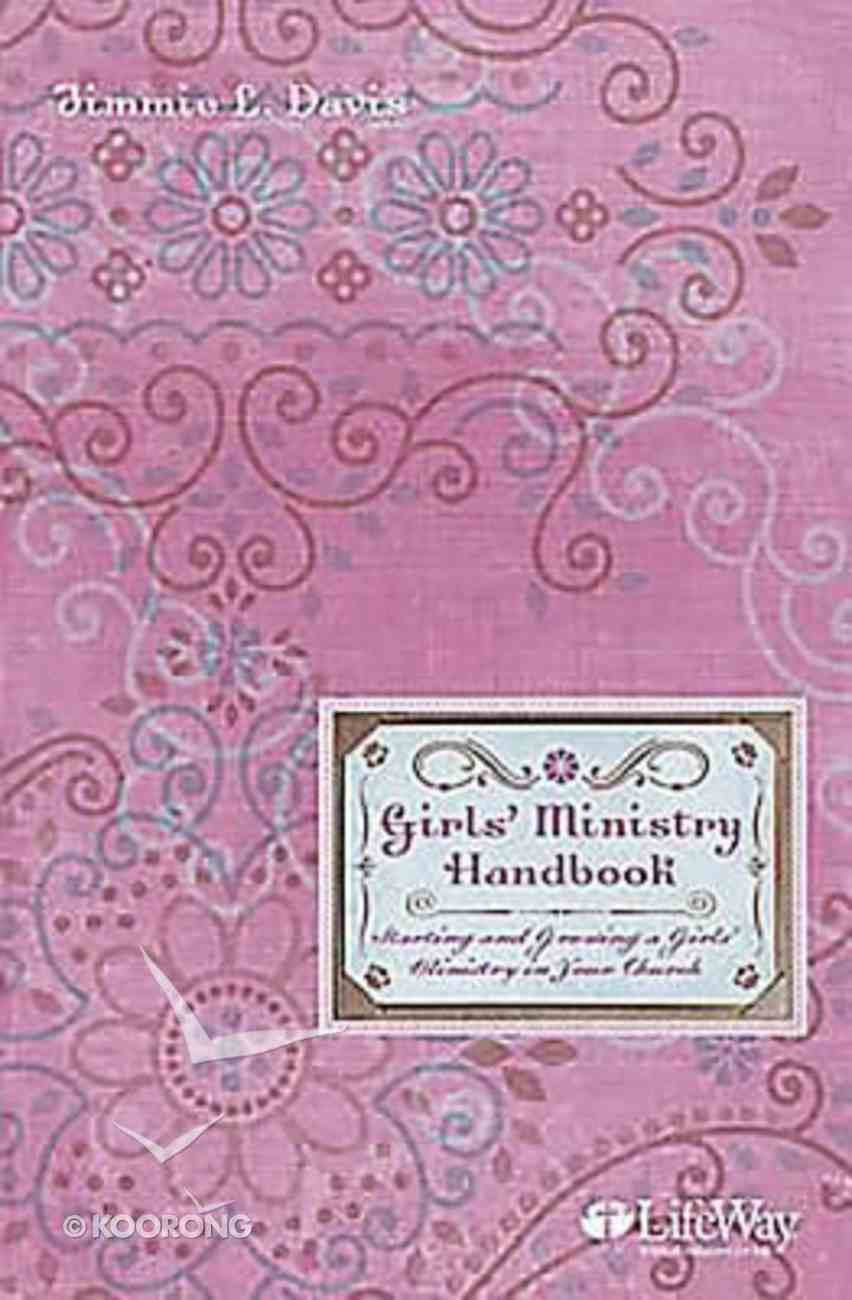 Girls' Ministry Handbook Paperback