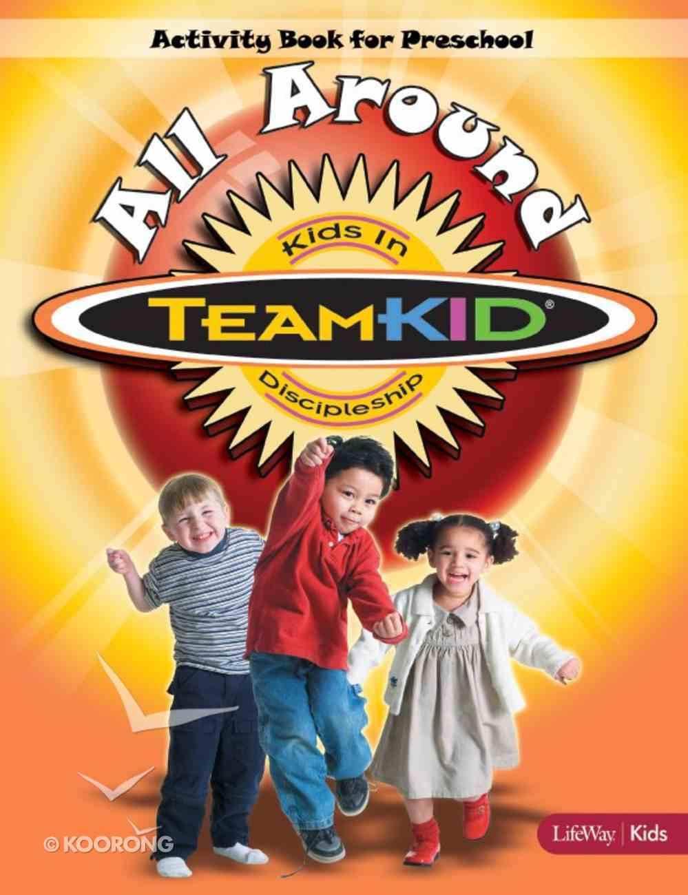 All Around Activity Book (Teamkid Series) Paperback