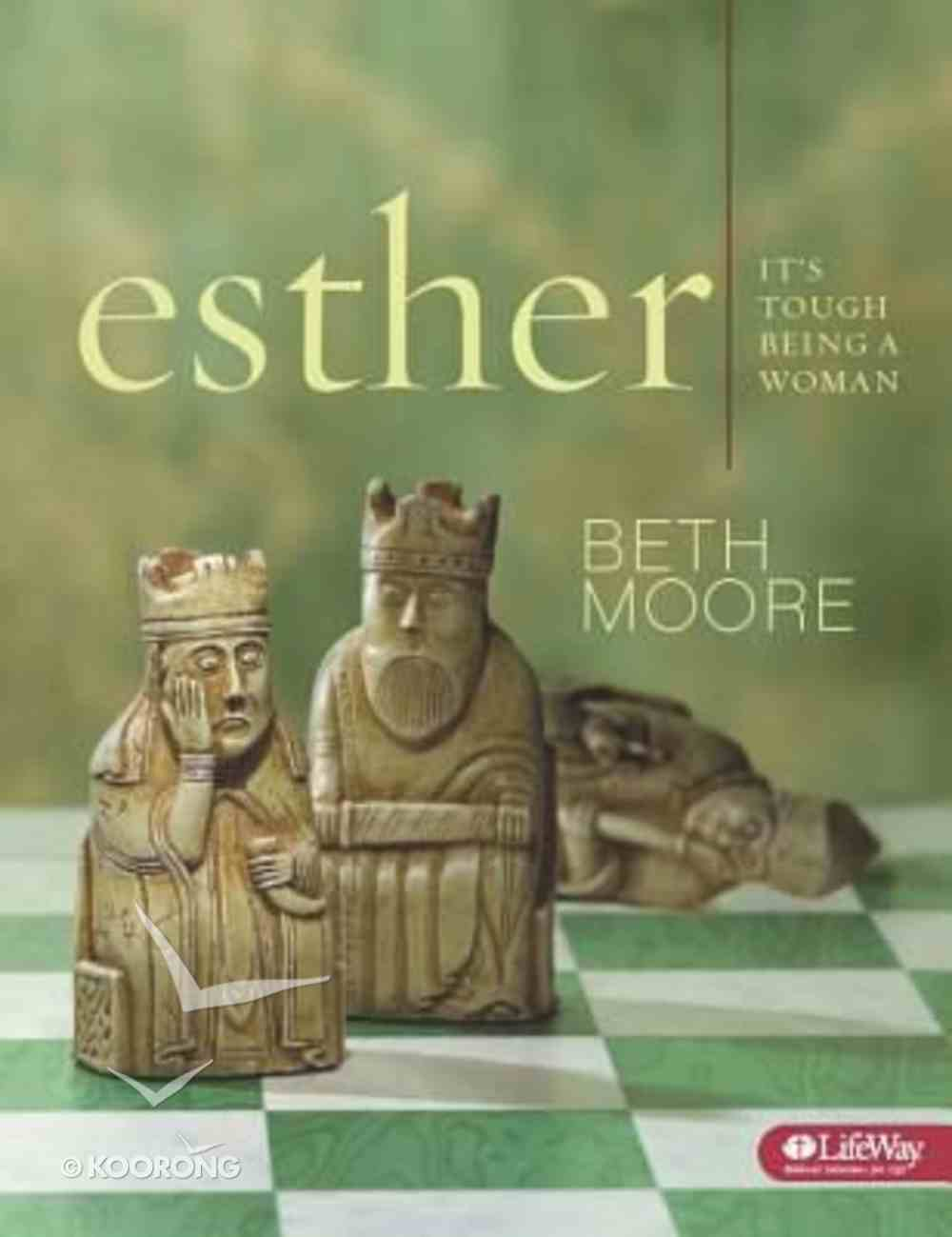 Esther - It's Tough Being a Woman (Audio CD Set) (Beth Moore Bible Study Audio Series) CD