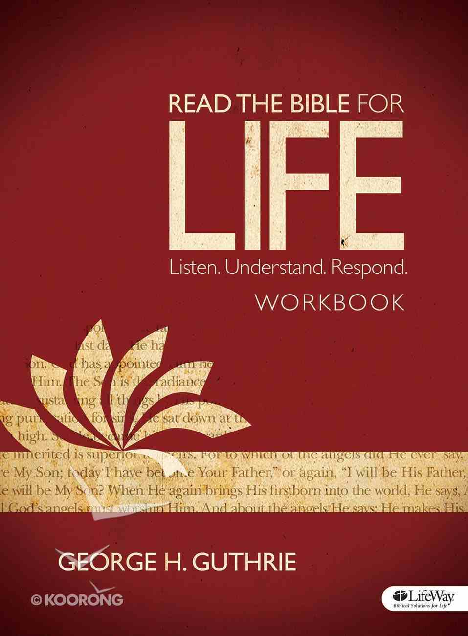 Read the Bible For Life (Workbook) Paperback