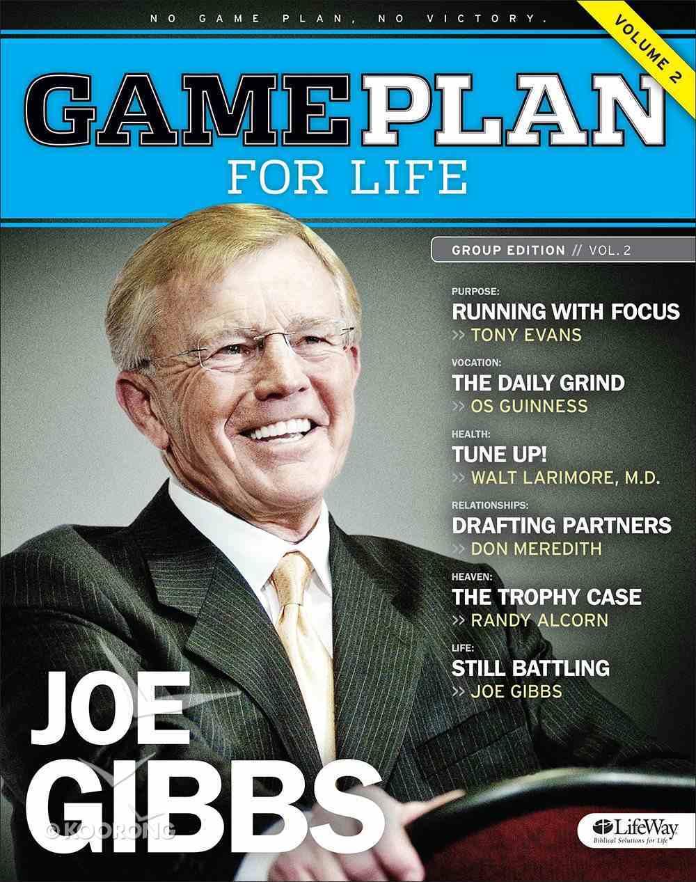 Game Plan For Life, Volume 2 (Member Book) Paperback