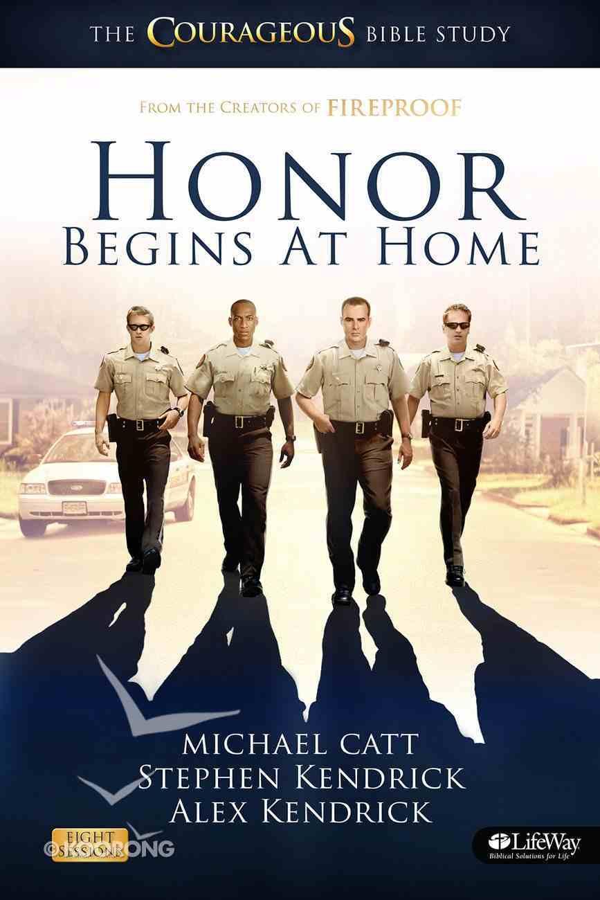 Honor Begins At Home (Member Book) Paperback