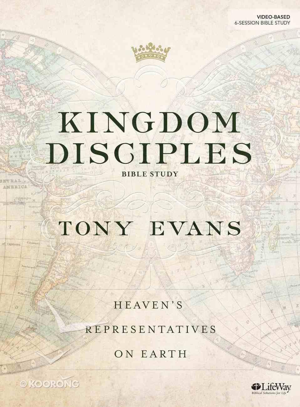 Kingdom Disciples (Bible Study Book) Paperback