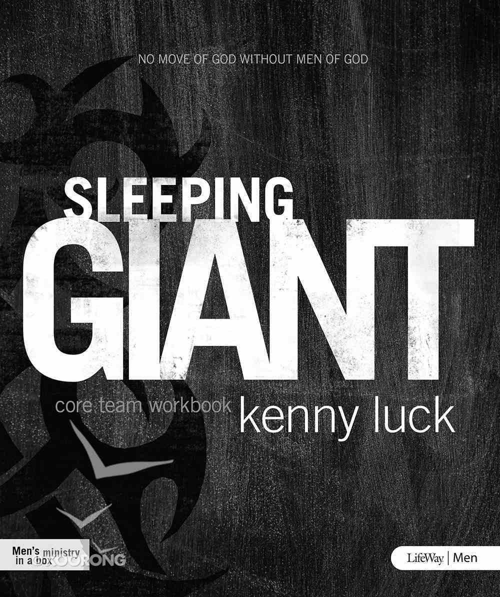 Sleeping Giant (Core Team Workbook) (Being God's Man Series) Paperback