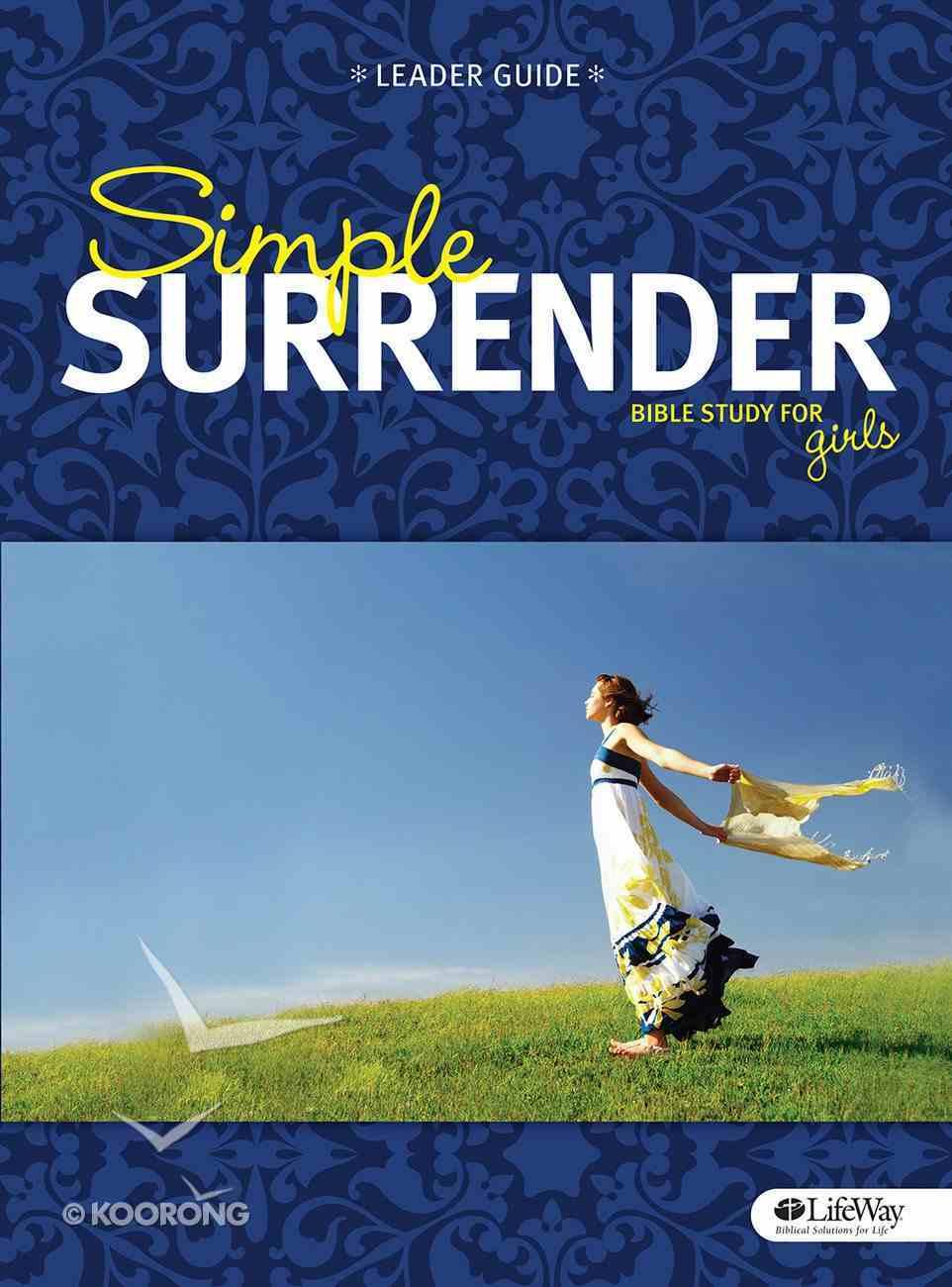 Simple Surrender (Leader Book) Paperback