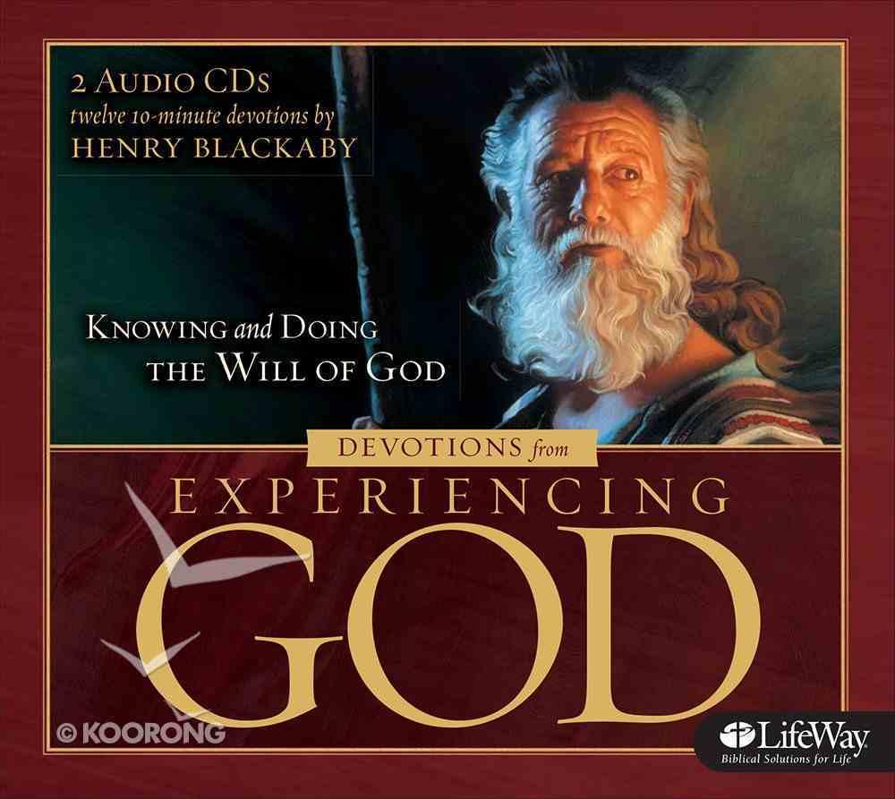 Experiencing God (2 Cds) (Auto Devotional Cd Set) CD