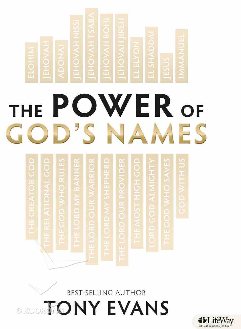 The Power of God's Name (Member Book) Paperback
