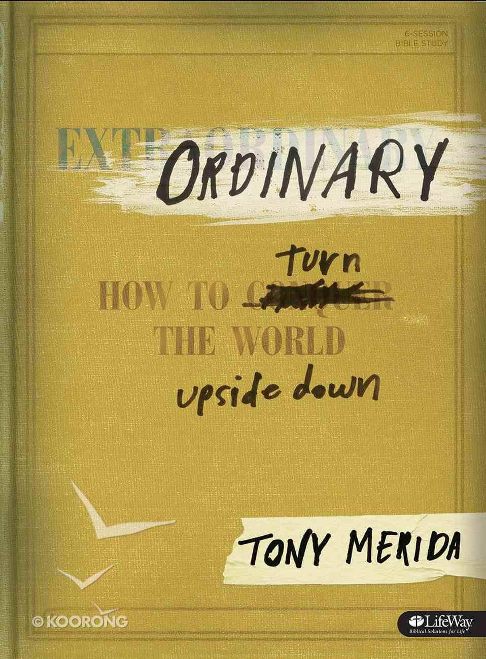 Ordinary (Bible Study Book) Paperback