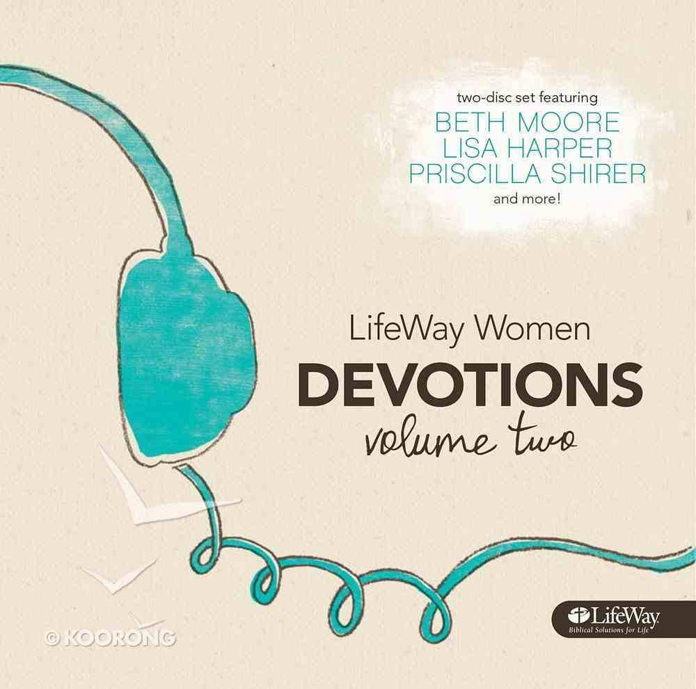 Lifeway Women Devotions Volume 2 - 12 Devotions (2 Cds) CD