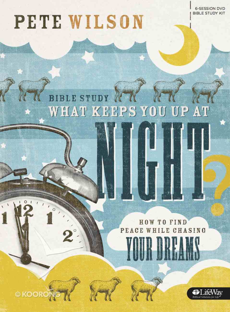 What Keeps You Up At Night (Bible Study Kit) Pack